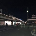 12番線 あけましておめでとうございます。1/1の0時に福山駅へ行ってみた。